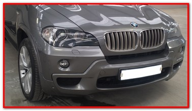 BMW X5 front bumper repair - GP Motor Works