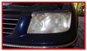 Head light renewal before - GP Motor Works