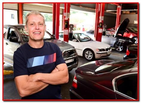 Gilles-Bedier-owner GP Motor Works