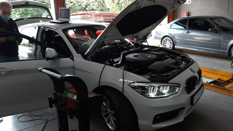 BMW - diagnostics car not starting at GP Motor Works