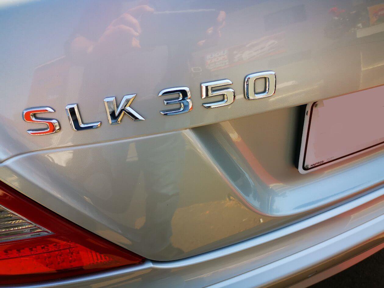 Mercedes Benz SLK 350 at GP Motor Works