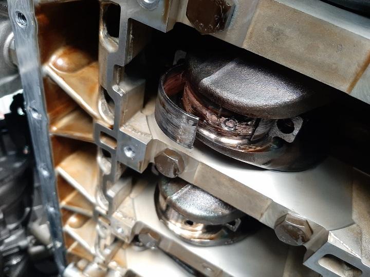 BMW 135i - engine bearing damage to conrod at GP Motor Works