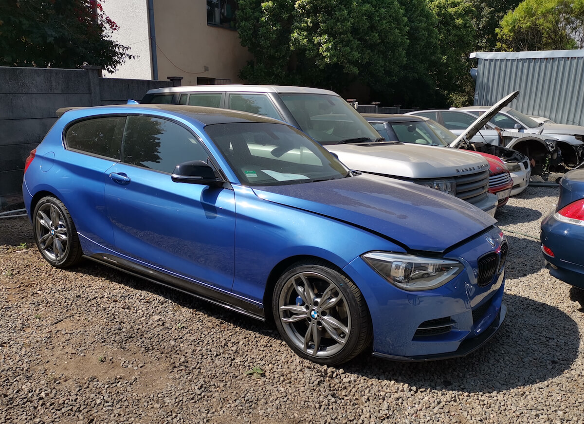 BMW 135i - engine failure caused by bearing damage at GP Motor Works