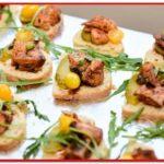 Chicken on bread - MotorChef Cafe Launch