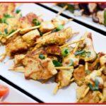 Chicken skewers - MotorChef Cafe Launch