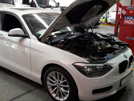 BMW 1Series Turbo Reconditioning - GP Motor Works