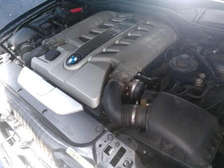 BMW 760Li 12 Cylinder Engine Compartment - GP Motor Works