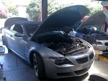BMW M6 E64 V10 S85 Engine Compartment - GP Motor Works