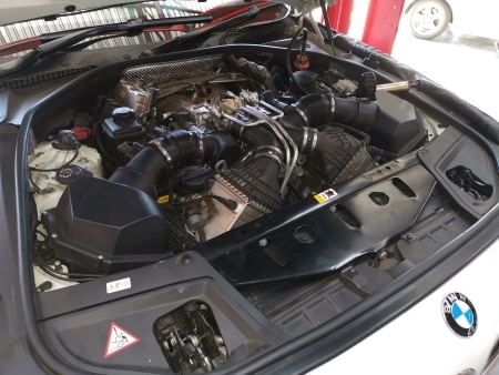 BMW M5 F10 S36N - Engine Compartment - GP Motor Works