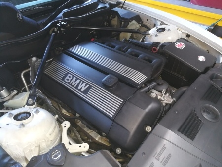 BMW Z4 Engine Compartment - GP Motor Works