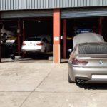 BMW M6 - air pipes broken, misfire diagnosis
