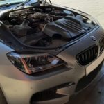 BMW M6 - air pipes broken, misfire diagnosis engine