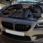 BMW M6 - air pipes broken, misfire diagnosis engine2