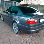 BMW M3 - full respray and cylinder head overhaul-rear view at GP Motor Works