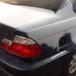 BMW M3 - preparation, bodywork repair for full paint respray at GP Motor Works