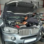 BMW X5 M5.0d F15 - intermittent power loss investigation at GP Motor Works