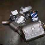 BMW X5 M5.0d F15 - new DPF unit and parts - at GP Motor Works