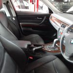 BMW 323i E90 facelift 2008 - front seats view - For sale at GP Motor Works
