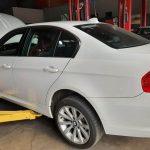 BMW 323i E90 facelift 2008 - passenger side view - For sale at GP Motor Works