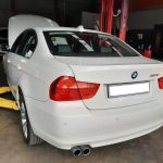 BMW 323i E90 facelift 2008 - rear angle view - For sale at GP Motor Works