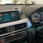 BMW X1 2.0l 2019 - iDrive Infotainment system view - For sale at GP Motor Works