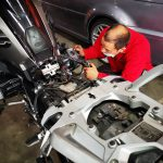 BMW R1200GS Motorcycle routine service at GP Motor Works