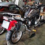 BMW R1200GS Motorcycle service at GP Motor Works
