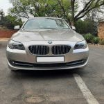 BMW 520i turbo recon & sump oil leak fixed and front & rear bumpers repaired by GP Motor Works