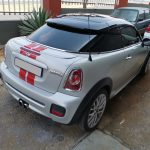 Mini Cooper S R58 Coupe at GP Motor Works for roof respray and new front brake pads and discs